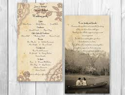 wedding programs sles 42 best wedding programs images on wedding stationary