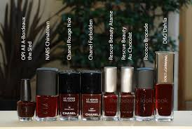 chanel rouge noir le vernis can you dupe it the beauty look book
