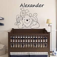 décoration winnie l ourson chambre de bébé winnie l ourson bébé stickers muraux décoration personnalisée noms
