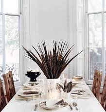 Table Decorations With Feathers Fall Decorating Ideas With Feathers Taryn Whiteaker