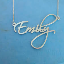 Name Necklaces Silver Pretty Little Liars Necklace Order Any Name Necklace Silver
