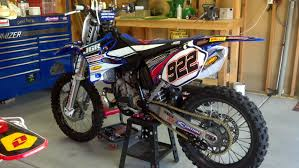 2001 yz 250 rebuild paint color moto related motocross