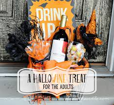 diy hallowine treat for moms you u0027ve been booed