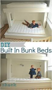 our version of a triple bunk bed all beds are cantilevered off
