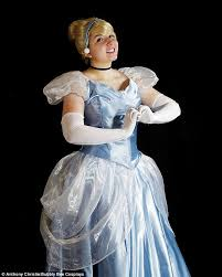 woman creates cinderella costume transforms pauper