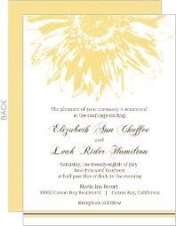 Sunflower Wedding Programs Rustic Wedding Invitations U0026 Western Wedding Invites