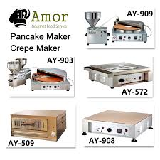 restaurant desktop automatic pancake snack baking machine buy