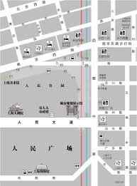 Map Of Shanghai File Street Map Of Shanghai Metro People U0027s Square Station Chinese
