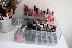 Makeup Organizer Desk by New Makeup Organizer Storage U2013 Nicole U0027s Beauty Blog