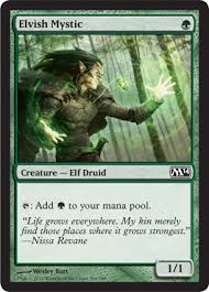 deck of the day elves pauper