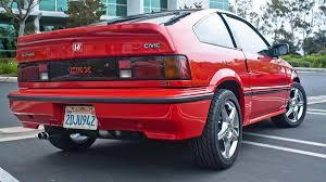 1987 honda crx si drive review autoweek