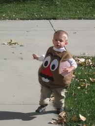 Potato Head Halloween Costume Brown Eyes Diy Halloween Costumes