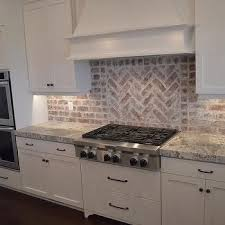 Kitchen Backdrop Best 10 Kitchen Brick Ideas On Pinterest Exposed Brick Kitchen