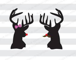 red nosed reindeer etsy
