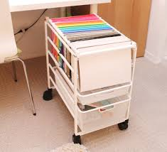 Ikea Craft Cart 15 Diy Craft Rooms Inspired By Ikea Hanging Files File Folder