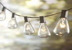 Patio String Lights Lowes Superior Patio Lights Lowes Allen Roth 12 Ft Clear Edison Bulb