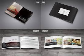 portfolio brochure template 30 eye catching psd indesign brochure