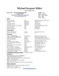 Resume Star Resume Michael Kennen Miller