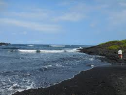taken at the black sands beach to give you a comparison picture