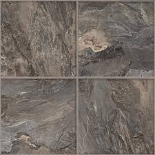 shop armstrong flooring terraza grand 1 piece slate gray peel and