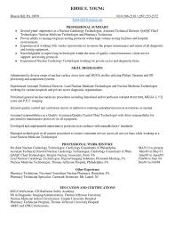 Nuclear Medicine Technologist Resume Examples by Download Nuclear Medical Technologist Medicine In Chicago Il