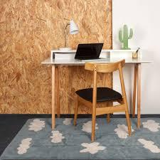 desk rug clouds rug vintage blue by lorena canals clever little monkey