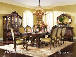 Fancy Living Room Sets Chateau Beauvis Luxury 9 Pc Formal Dining Room Set China Cabinet