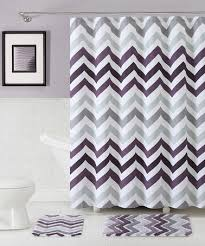 Plum Bath Rugs Another Great Find On Zulily Purple Corso Chevron Shower Curtain