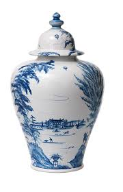 What Is Ginger Jars Country Estate Delft Blue 17