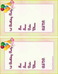 free birthday invites marialonghi com