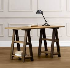 furniture nice sample of modern sawhorse desk for working room