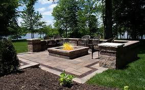 Paver Patios Paver Patio Extend Your Outdoor Entertainment All Winter