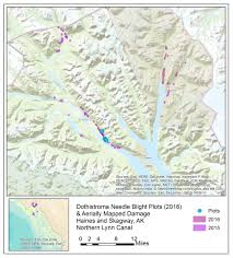 Southeast Alaska Map Region 10 Forest U0026 Grassland Health