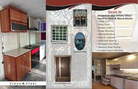 aluminium kitchen cabinet technoglass pk