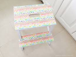 Ikea Bekvam Stool by The Bekväm Step Stool Gets Pretty With Washi Tape Ikea Hackers