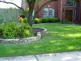 creating the flower bed border ideas for your lawn custom home