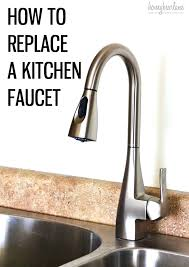 how to replace a moen kitchen faucet cartridge replace kitchen faucet how to replace kitchen faucet cartridge