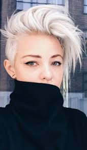 short white hair 12 short haircuts that will help you stay cool in hot weather