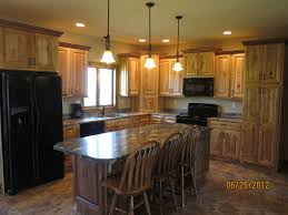 knotty hickory cabinets kitchen rustic hickory cabinets kitchen traditional with kitchen laminate