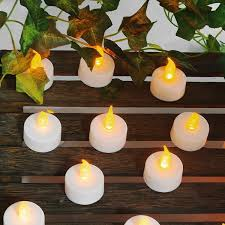 led tealight candles battery operated flameless tealight candles