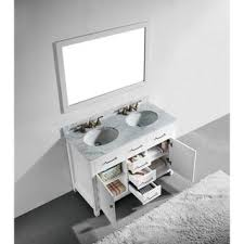 48 Double Sink Bathroom Vanity by Top 25 Best Small Double Vanity Ideas On Pinterest Double Sink