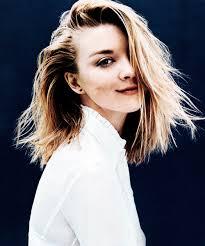Natalie Dormer Fansite Glamour Magazine Natalie Dormer Habla Sobre El Peinado De