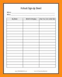 7 thanksgiving potluck sign up abstract sle