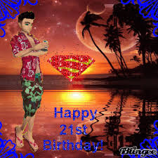 21st birthday card male picture 107321489 blingee com