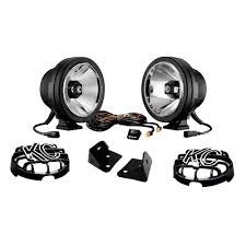 jeep kc lights kc hilites 97017 wrangler jk pro sport gravity leds w mounts 2007 18