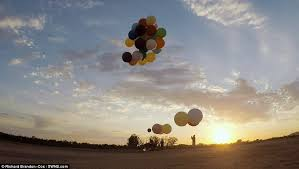 Seeking Balloon Pixar S Up Comes To With Chair Stunt In South Africa Daily