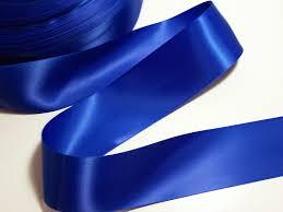 satin ribbon blue ribbon single royal blue satin ribbon 2 1 4 inches