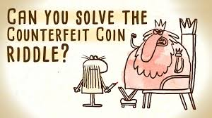sofa king joke can you solve the counterfeit coin riddle jennifer lu youtube
