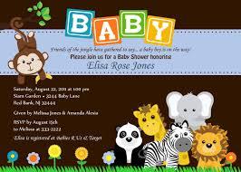 template safari baby shower invitations