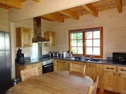 cuisine maison bois photos interieurs de maisons bois